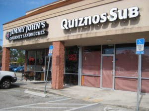 GARY T. MILLS/The Times-Union -- Jan. 2012 -- Quiznos Sub recently closed at 7159 Philips Highway.